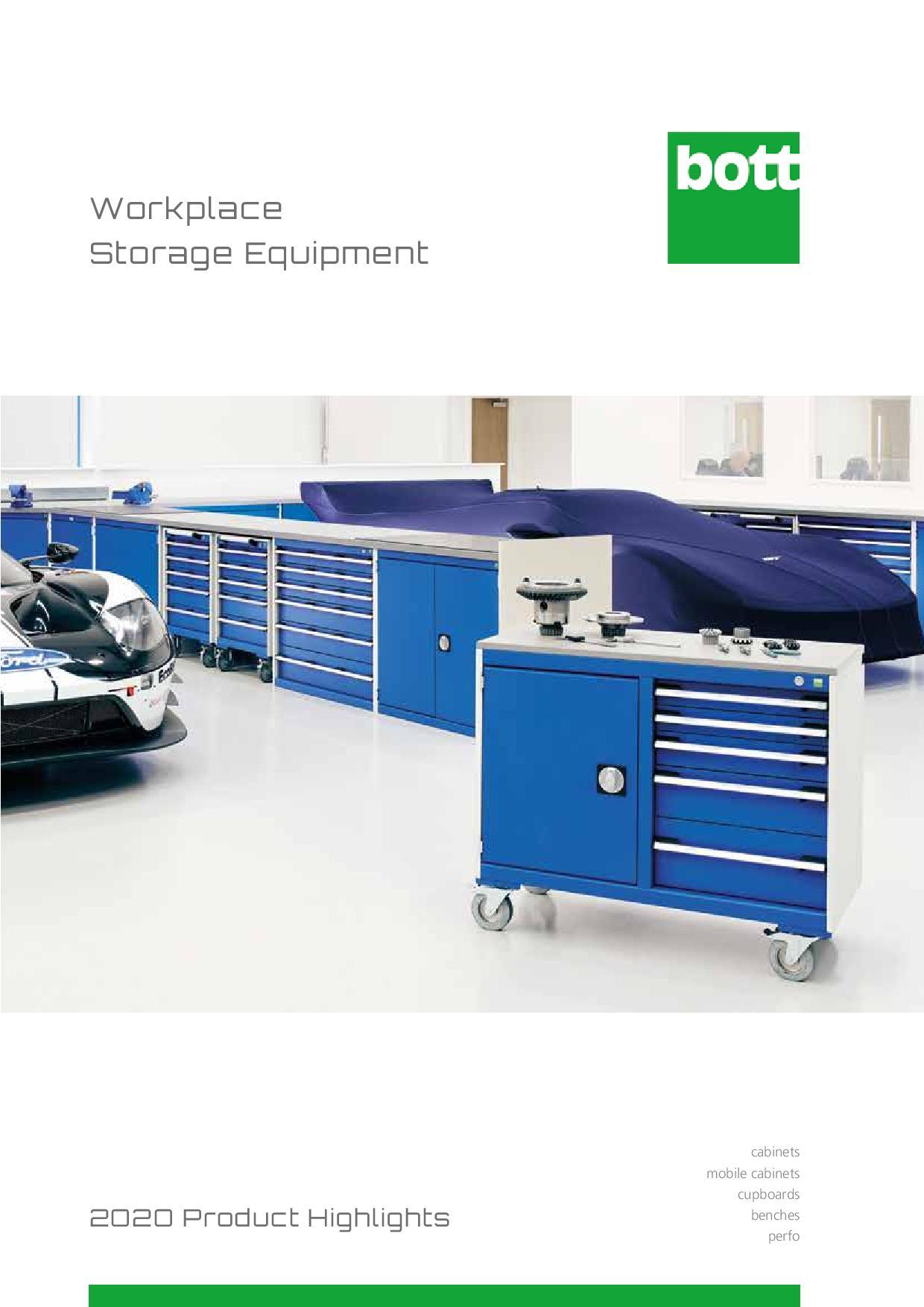 2020 Workplace Storage Equipment - Highlights