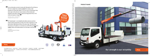 hydraulic lifting equipment brochure