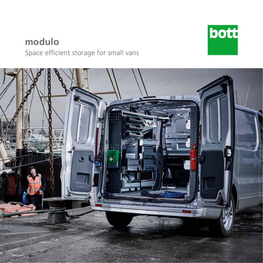 Modulo - Self fit van racking